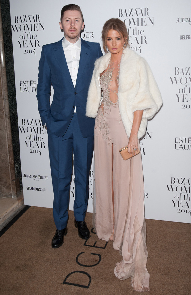 Millie Mackintosh and Professor Green attend the Harper's Bazaar Women of the Year awards in London - 4 November 2014