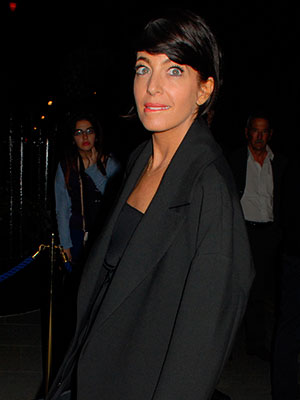 Claudia Winkleman pictured out in London in September 2014