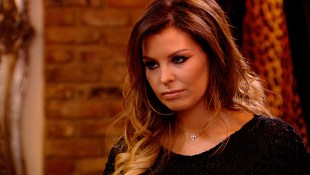 TOWIE's Jessica Wright breaks down in tears while meeting Ricky Rayment for dinner after their split. Episode airing 5 November 2014.