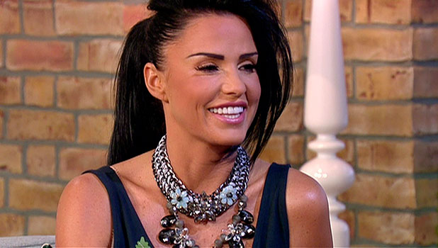Katie Price appears on ITV's This Morning, 7 November 2014