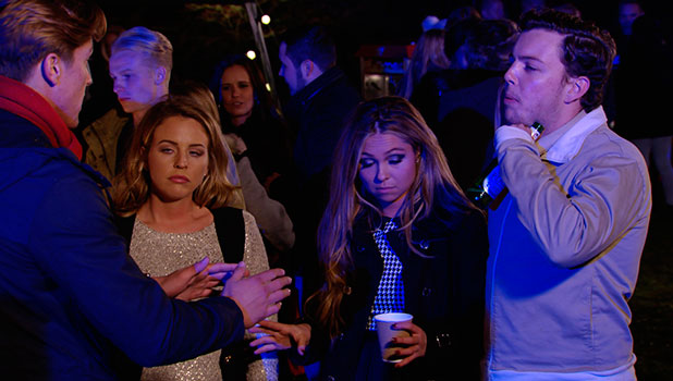 TOWIE's Fran Parman and Lewis Bloor clash again, episode airing 5 November 2014