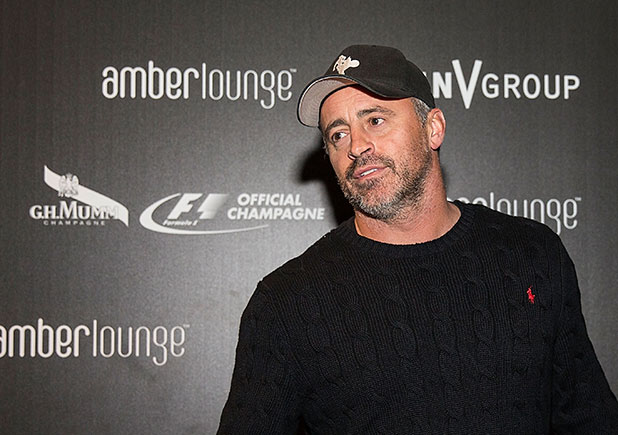 Matt LeBlanc celebrates F1 with G.H.MUMM during the Original F1 After-Party at Amber Lounge on November 1, 2014 in Austin, Texas.