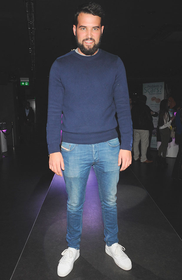 Ricky Rayment at the Mediaskin Gifting Lounge, The Stamp, London, Britain - 06 Nov 2014