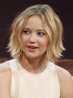 Jennifer Lawrence appears on German-language entertainment television show 'Wetten, dass..?' 8 November 2014