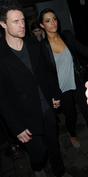 Frankie and Wayne Bridge arrive at the Strictly Come Dancing after party in Blackpool, 15 November 2014