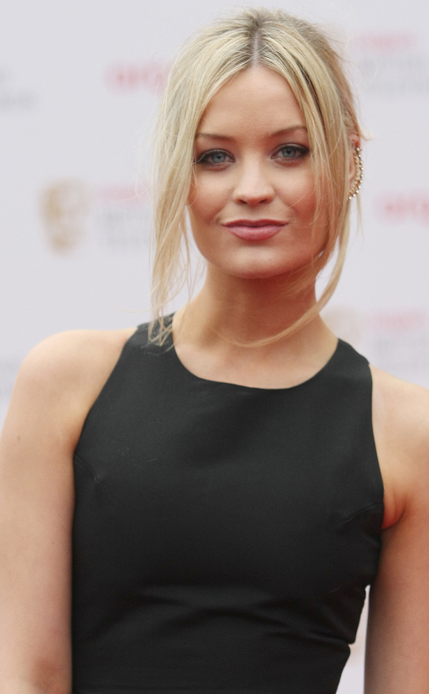 Laura Whitmore at The Arqiva British Academy Television Awards held at the Royal Festival Hall 05/12/2013