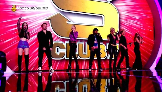 S Club 7 perform for the first time in 12 years on Children In Need, 14 November 2014
