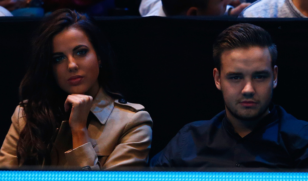 Liam Payne of One Direction and Sophia Smith watch Andy Murray against Milos Raonic on day three of the Barclays ATP World Tour Finals at the O2 Arena on November 11, 2014 in London, England.