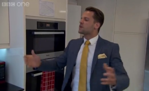 The Apprentice's James Hill and Bianca Miller argue in The Apprentice - 10 Nov 2014