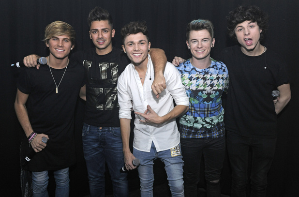 'The X Factor' evictees Overload Generation perform live at G-AY - 18 October 2014.