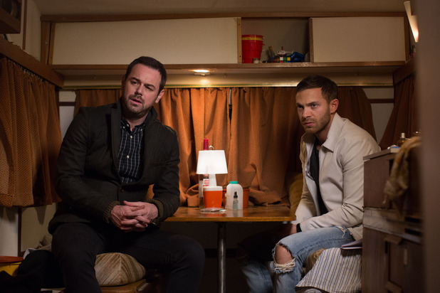 EastEnders, Mick and Dean find Shirley, Tue 18 Nov