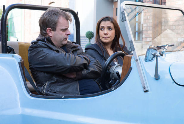 Corrie, Michelle wants Steve to open up, Wed 19 Nov