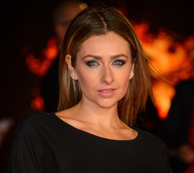 Gemma Merna at The Hunger Games: Mockingjay Part 1 World Premiere at Odeon Leicester Square - Arrivals - 10 November 2014.