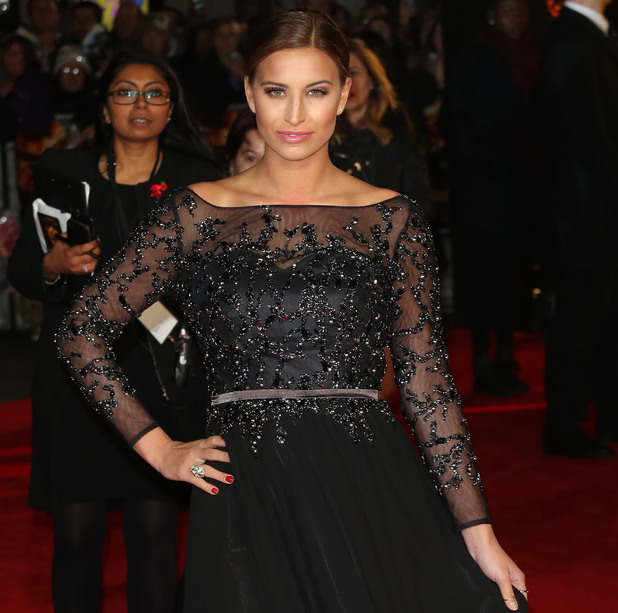 Ferne McCann, World premiere of 'The Hunger Games: Mockingjay - Part 1' - Arrivals, 10 November 2014