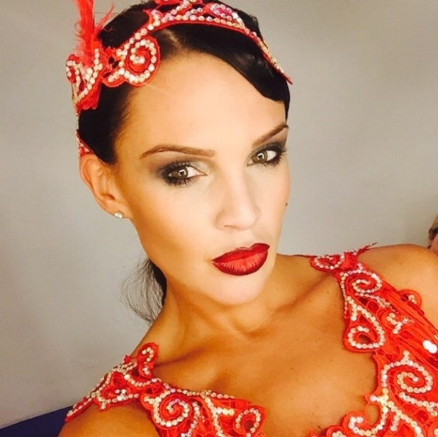 Danielle Lloyd shares a sneak peek picture from Get Your Act Together - 11 Nov 2014
