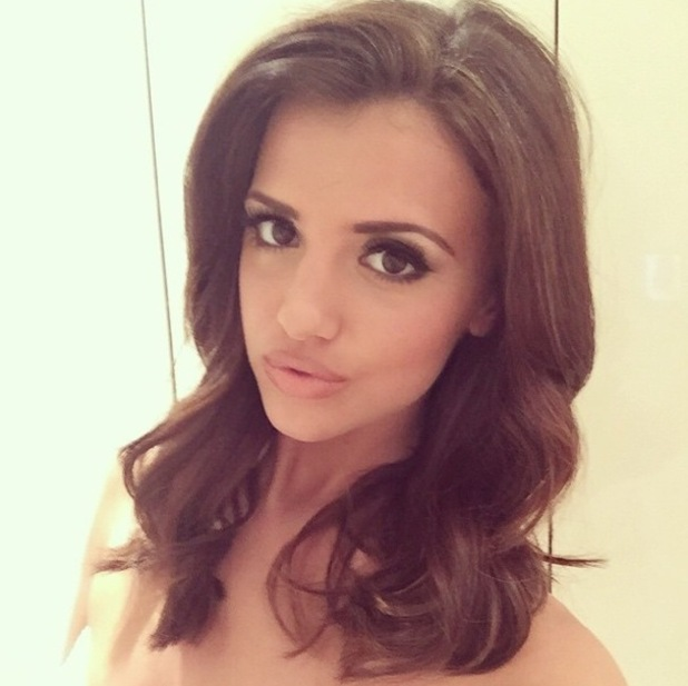 Lucy Mecklenburgh shows off shorter hair 13 November
