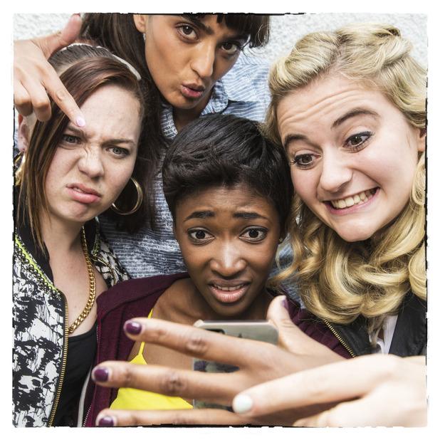 Some Girls, BBC3, Saz, Amber, Holli, Viva, Mon 17 Nov