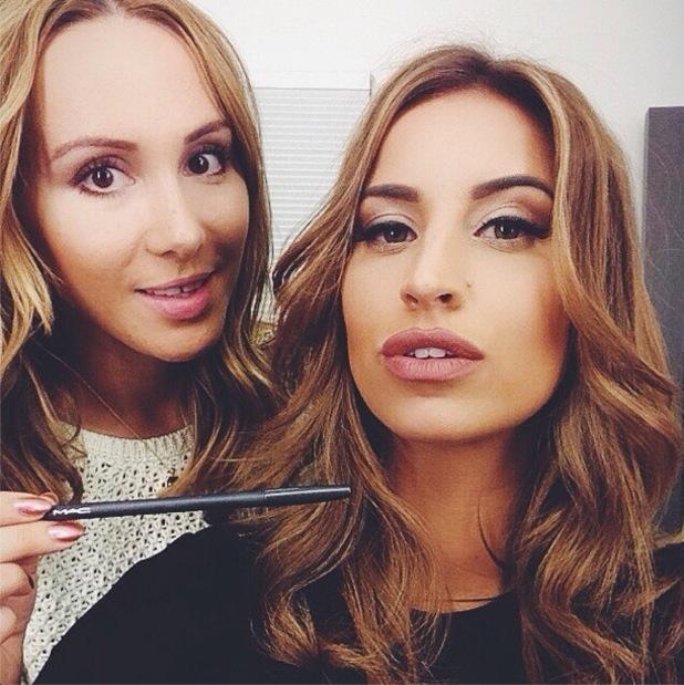Ferne McCann copies Kylie Jenner's lip liner - 13 November 2014