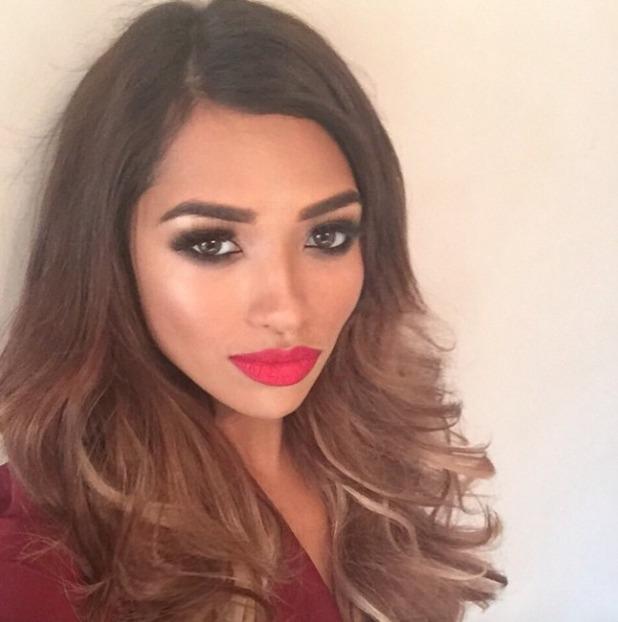 Vanessa White thanks Easilocks extensions, hairdresser Mikey Kardashian, make-up artist Toby Salvietto and eyelash extension specialist Soodi for her gorgeous beauty look for her birthday party, 14 November 2014