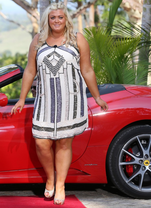 Gemma Collins looks glamorous to meet other I'm A Celebrity contestants in Australia... 14 November 2014