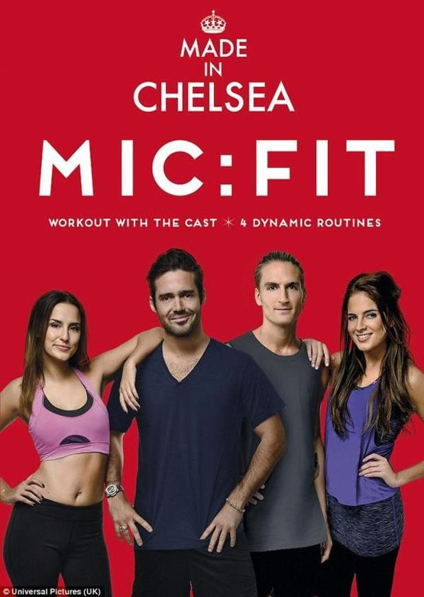 Alexandra 'Binky' Felstead, Lucy Watson, Spencer Matthews and Oliver Proudlock promote MIC:FIT video - 14 Nov 2014