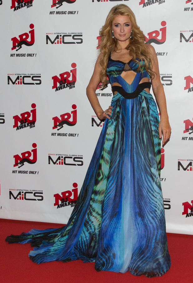Paris Hilton attends the NRJ DJ Awards show in Monaco, France - 12 November 2014