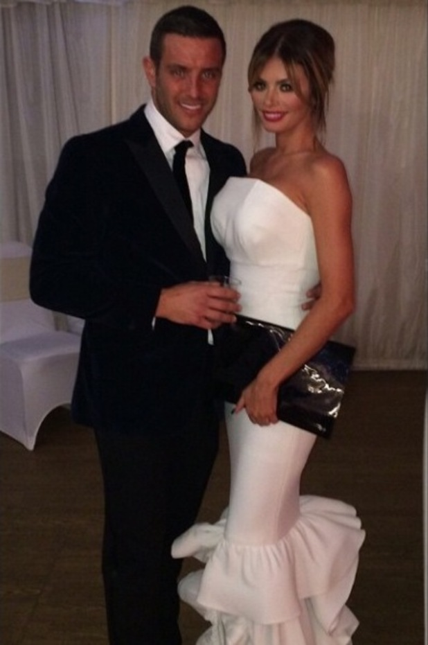 TOWIE's Elliott Wright and Chloe Sims at Bobby Norris' charity fundraiser - 10 November.