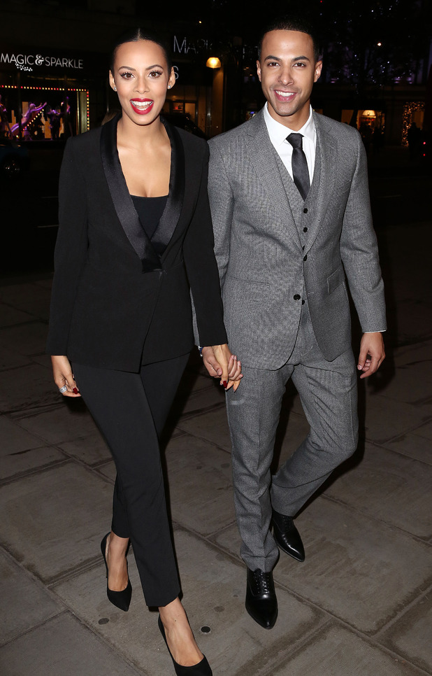 Rochelle Humes and Marvin Humes at the 'PandoraWishes' campaign launch, London, Britain - 12 Nov 2014