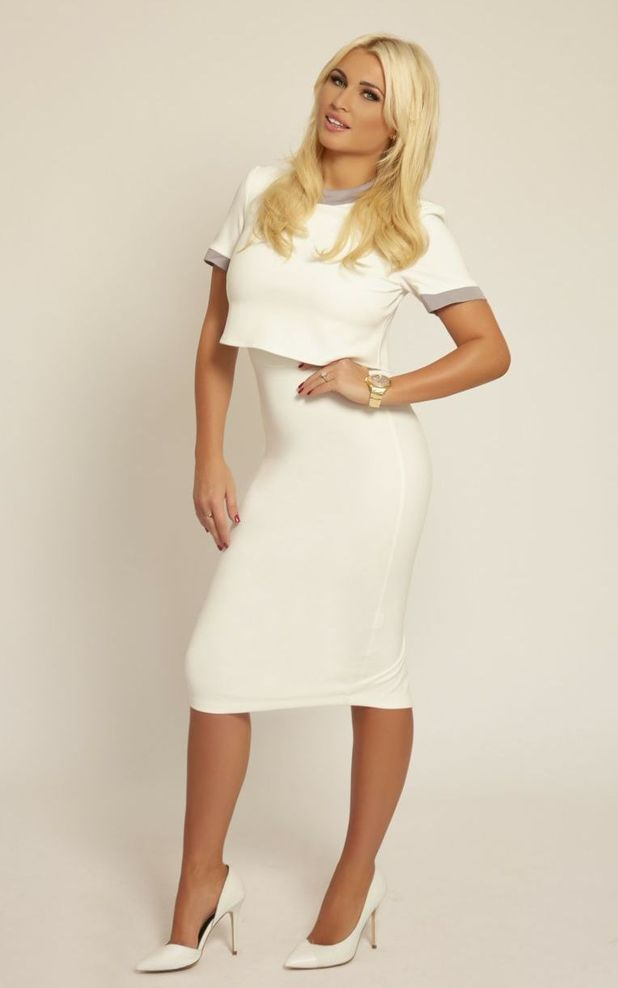 """TOWIE""""s Billie Faiers launches debut Baby Range 'The Signature Range'. November 2014."""