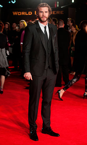 Liam Hemsworth at The Hunger Games: Mockingjay Part 1 World Premiere at Odeon Leicester Square - Arrivals, 10 November 2014