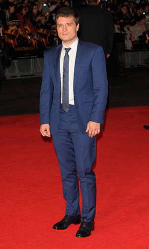 Josh Hutcherson at The Hunger Games: Mockingjay Part 1 World Premiere at Odeon Leicester Square - Arrivals, 10 November 2014
