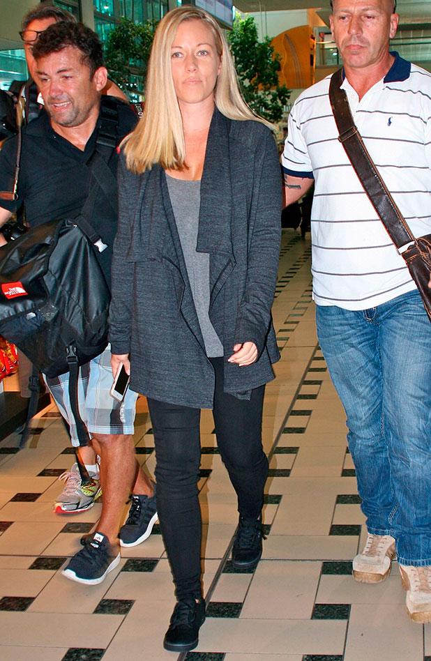 'I'm a Celebrity Get Me Out of Here' TV show arrivals, Brisbane International Airport, Australia - 10 Nov 2014 Kendra Wilkinson