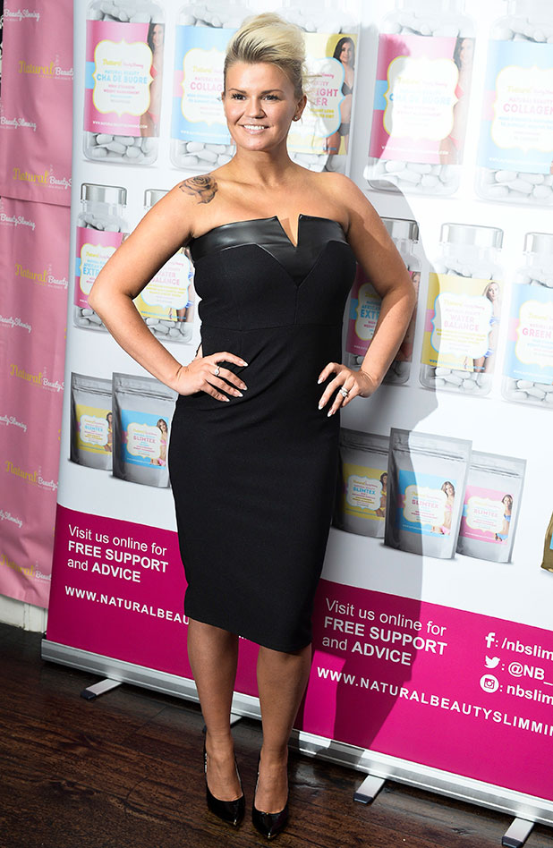 Kerry Katona announced as brand ambassador of Natural Beauty Slimming product, London, Britain - 11 Nov 2014