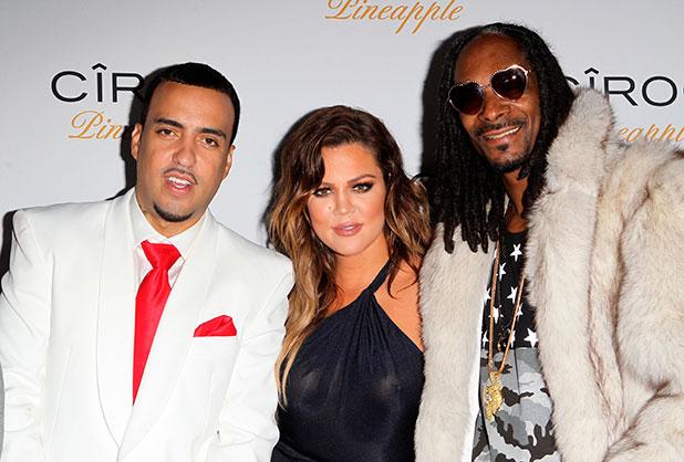 French Montana,Khloé Kardashian,Snoop Lion,Snoop Dogg at French's 30th birthday in Bel-Air, 9 November 2014