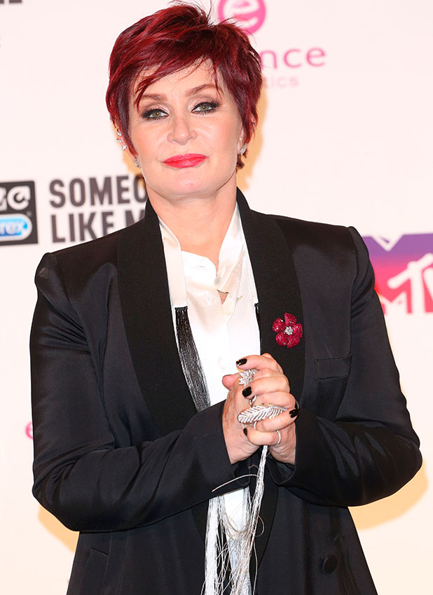 Sharon Osbourne at MTV EMA Awards 2014 held at the The Hydro - Press Room, Glasgow, 9 November 2014