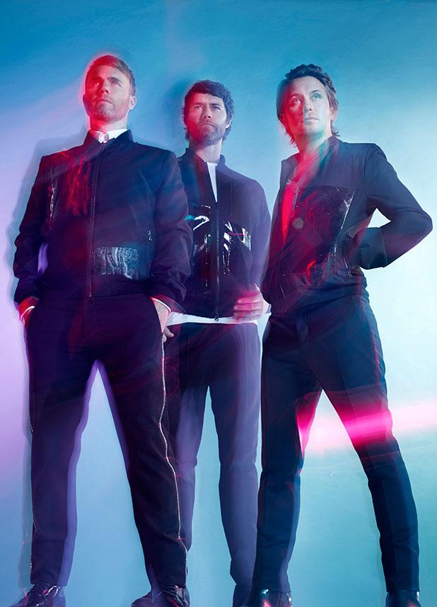 Take That press shot for album III, 2014
