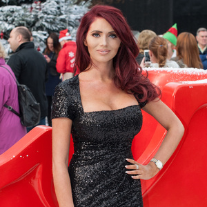 Amy Childs at Ideal Home Show at Christmas, Earls Court Exhibition Centre, London 19 November