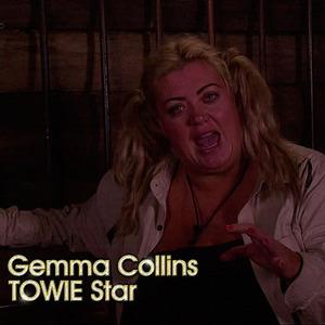 Gemma Collins on I'm A Celebrity, 2014