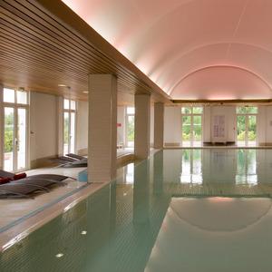 Magic Circus Hotel pool - Marne-la-Vallée in France - October 2014.