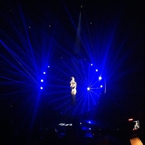 Nicole Scherzinger shares pictures of planned X Factor performance with lasers - 17 Nov 2014