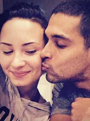 Demi Lovato and Wilmer Valderrama 17 November