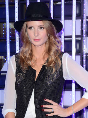 Millie Macintosh at the Westfield 24 Hour 'Hackathon' as a judge at The Atrium, Westfield, 21 September 2014