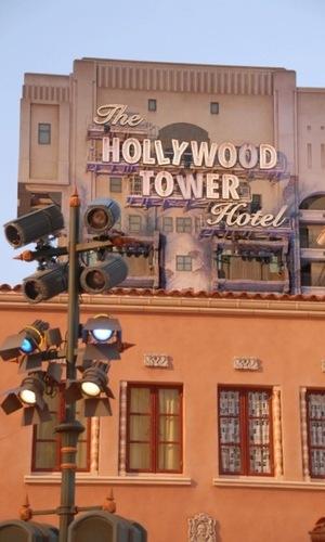 The Hollywood Tower Hotel' ('Tower of Terror'), 'Disneyland Resort Paris', Disney Studios.
