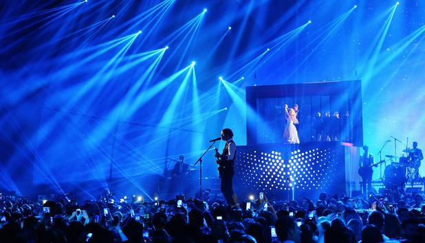 Ed Sheeran performs at MTV EMAs, Glasgow 9 November