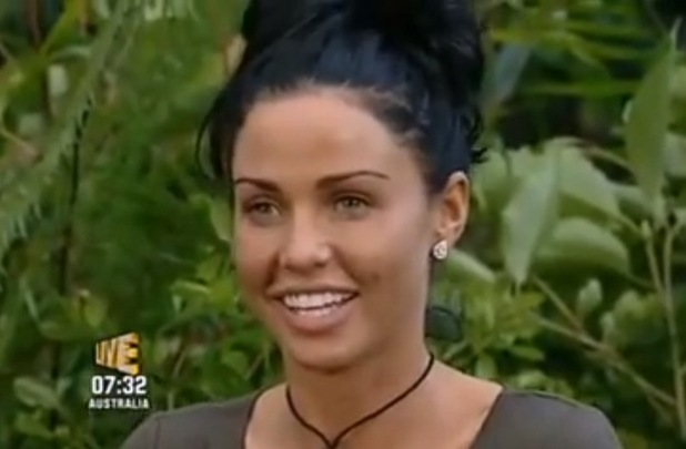 Katie Price on I'm A Celebrity...Get Me Out Of Here! 2009 - 19 Nov 2014