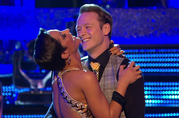 Frankie Bridge performs on Strictly Come Dancing, BBC One 16 November