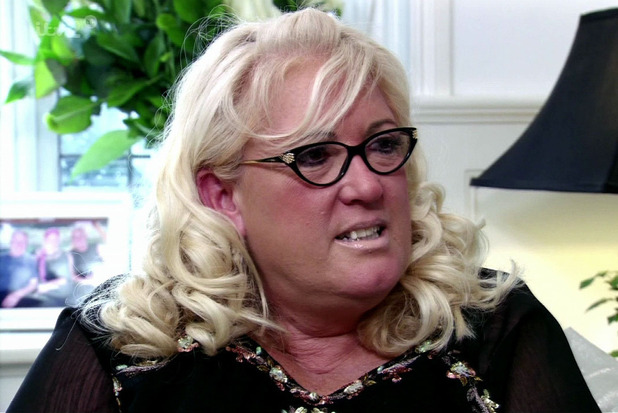 The Only Way Is Essex. Shown on ITV2 HD Gemma Collins visits her mum Joan to try and make up after they had a falling out - 21/3/13