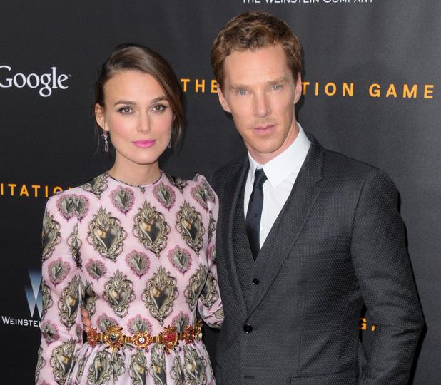 Benedict Cumberbatch and Kiera Knightley, The Imitation Game premiere, New York 17 November