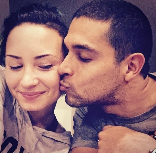Demi Lovato and Wilmer Valderrama 17 November
