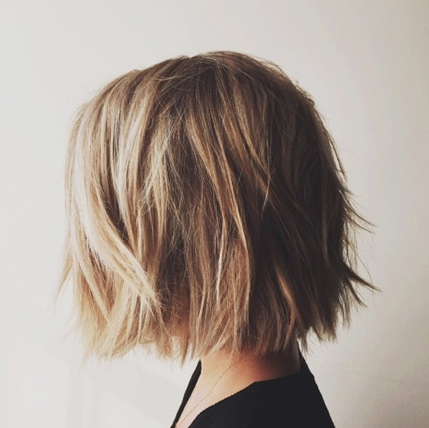 Lauren Conrad shows off her new super-short bob haircut - 14 November 2014